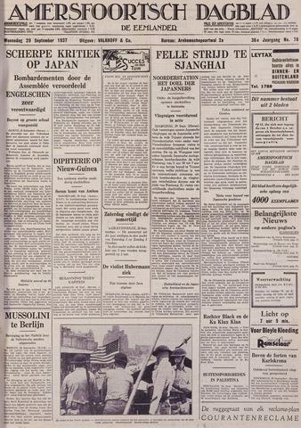 Amersfoortsch Dagblad / De Eemlander 1937-09-29