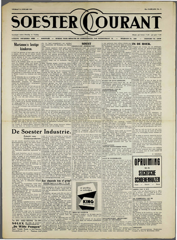 Soester Courant 1952-01-11