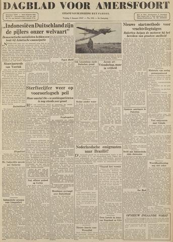 Dagblad voor Amersfoort 1947-01-03