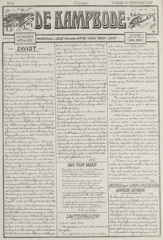 De Kampbode 1916-02-27