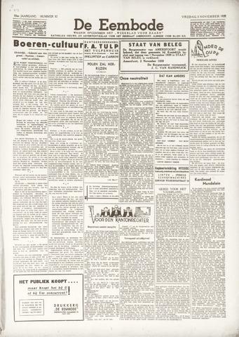 De Eembode 1939-11-03