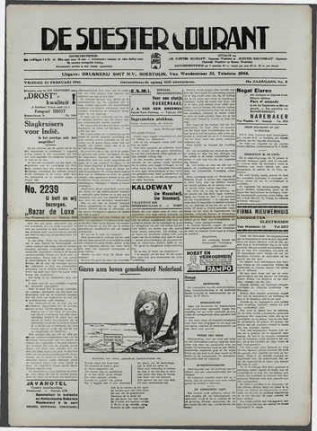 Soester Courant 1940-02-23