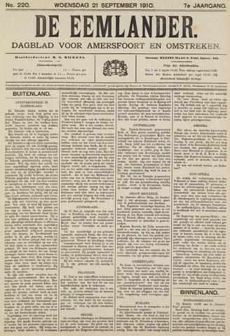 De Eemlander 1910-09-21