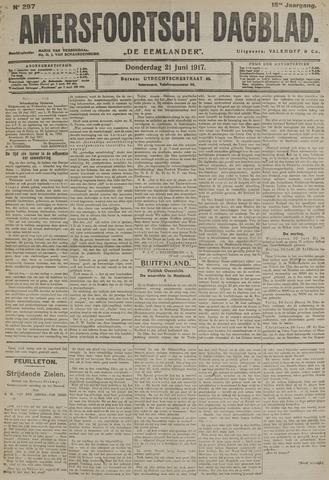 Amersfoortsch Dagblad / De Eemlander 1917-06-21