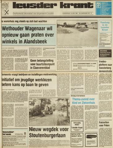 Leusder Krant 1983-06-16
