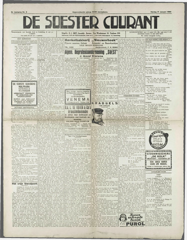 Soester Courant 1930-01-17