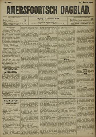 Amersfoortsch Dagblad 1910-10-21