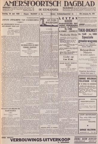 Amersfoortsch Dagblad / De Eemlander 1935-06-29