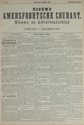 Nieuwe Amersfoortsche Courant 1891-10-21