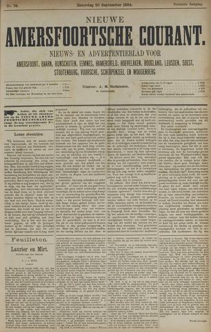 Nieuwe Amersfoortsche Courant 1884-09-20