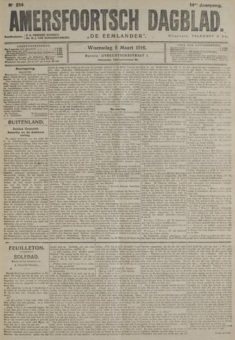 Amersfoortsch Dagblad / De Eemlander 1916-03-08