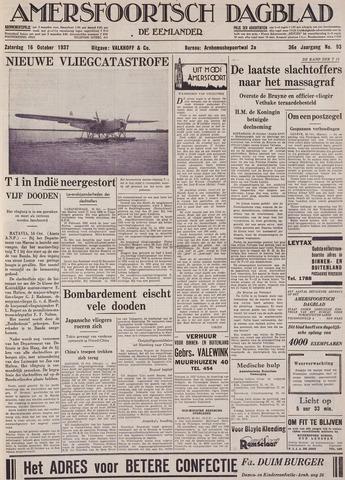 Amersfoortsch Dagblad / De Eemlander 1937-10-16