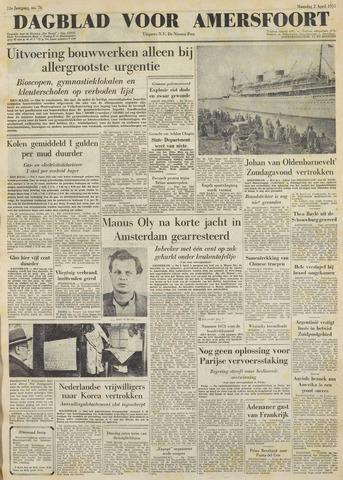 Dagblad voor Amersfoort 1951-04-02