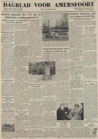Dagblad voor Amersfoort 1949-02-21