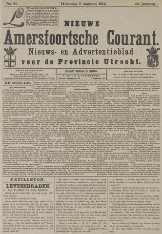 Nieuwe Amersfoortsche Courant 1916-08-09