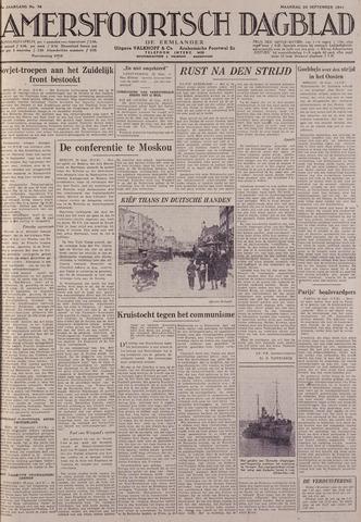Amersfoortsch Dagblad / De Eemlander 1941-09-29