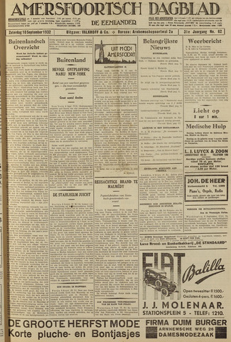 Amersfoortsch Dagblad / De Eemlander 1932-09-10