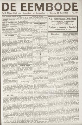 De Eembode 1922-06-27