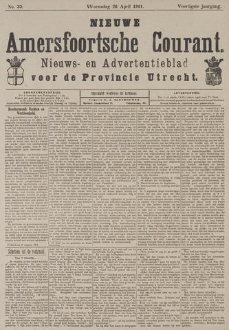 Nieuwe Amersfoortsche Courant 1911-04-26