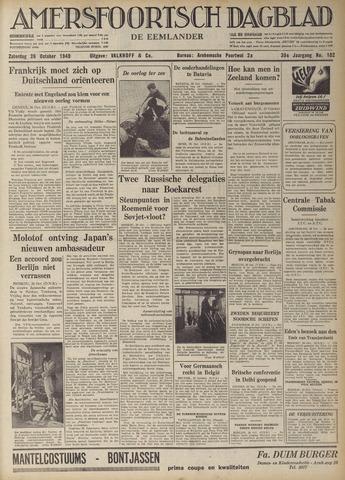 Amersfoortsch Dagblad / De Eemlander 1940-10-26