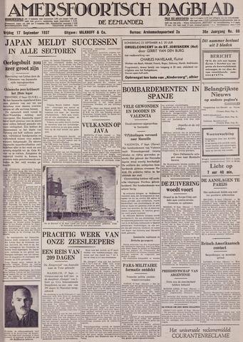 Amersfoortsch Dagblad / De Eemlander 1937-09-17