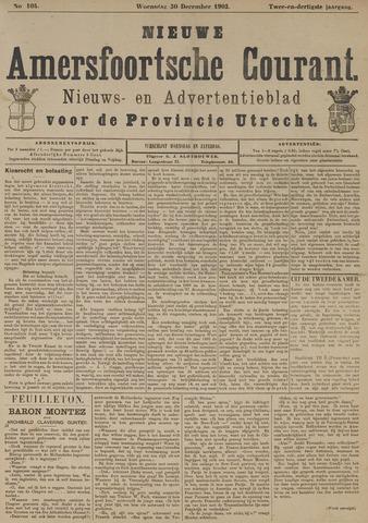 Nieuwe Amersfoortsche Courant 1903-12-30