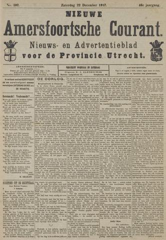 Nieuwe Amersfoortsche Courant 1917-12-22