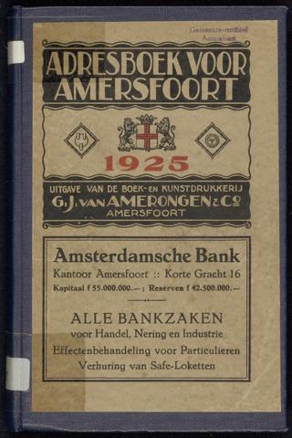 Adresboeken Amersfoort 1925