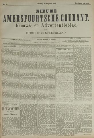 Nieuwe Amersfoortsche Courant 1889-08-10