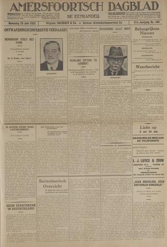Amersfoortsch Dagblad / De Eemlander 1933-06-28