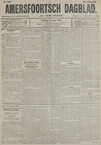 Amersfoortsch Dagblad / De Eemlander 1914-06-12