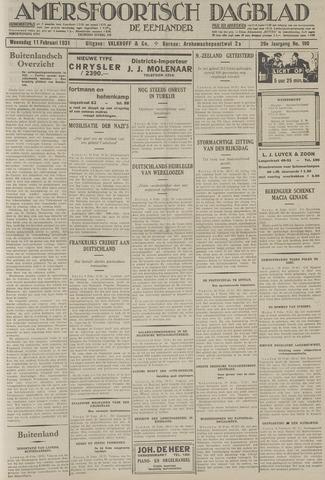 Amersfoortsch Dagblad / De Eemlander 1931-02-11