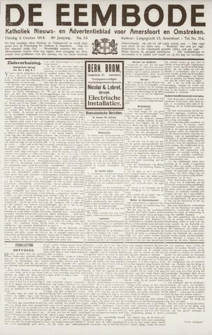 De Eembode 1914-10-06