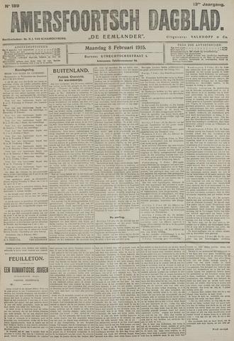 Amersfoortsch Dagblad / De Eemlander 1915-02-08