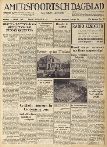 Amersfoortsch Dagblad / De Eemlander 1940-10-23