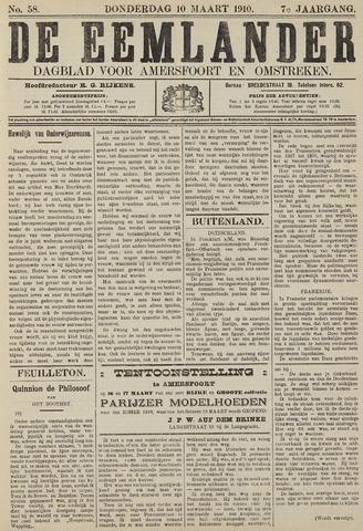 De Eemlander 1910-03-10