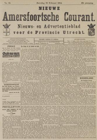 Nieuwe Amersfoortsche Courant 1914-02-21