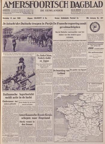 Amersfoortsch Dagblad / De Eemlander 1940-06-19