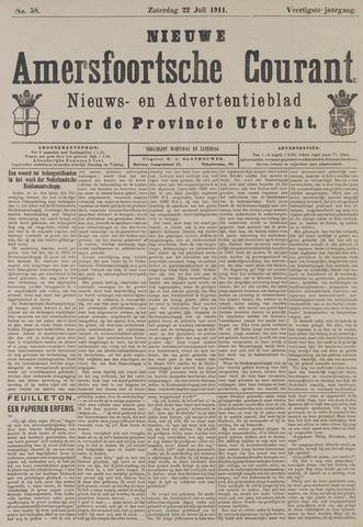 Nieuwe Amersfoortsche Courant 1911-07-22