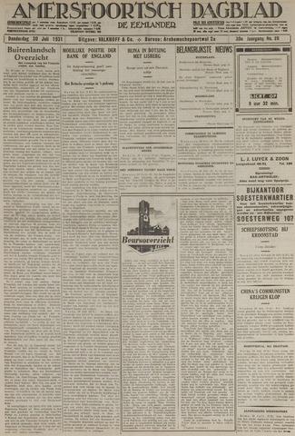 Amersfoortsch Dagblad / De Eemlander 1931-07-30