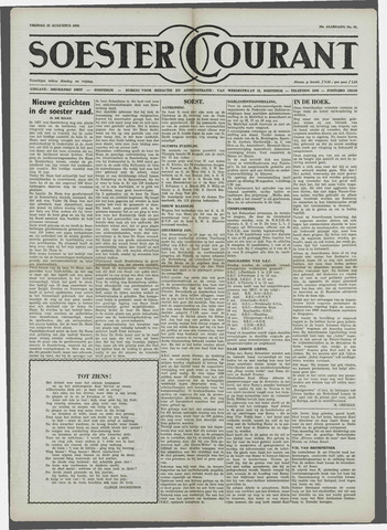 Soester Courant 1958-08-22