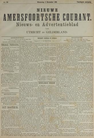 Nieuwe Amersfoortsche Courant 1891-11-04