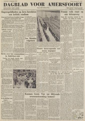 Dagblad voor Amersfoort 1948-09-16