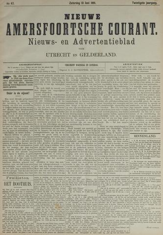 Nieuwe Amersfoortsche Courant 1891-06-13
