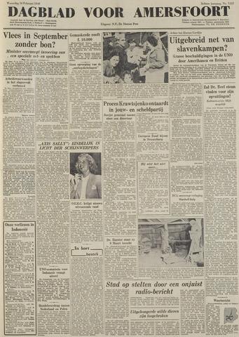 Dagblad voor Amersfoort 1949-02-16