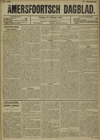 Amersfoortsch Dagblad 1905-10-20