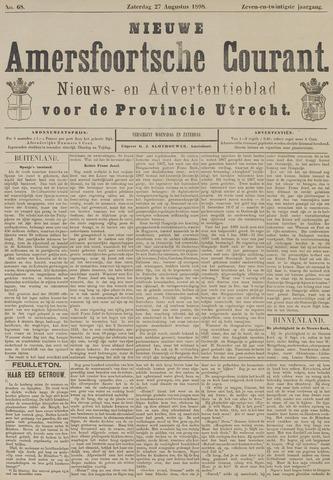 Nieuwe Amersfoortsche Courant 1898-08-27