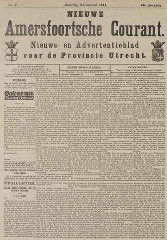 Nieuwe Amersfoortsche Courant 1914-01-24