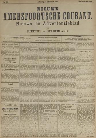 Nieuwe Amersfoortsche Courant 1887-12-24