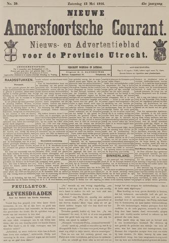 Nieuwe Amersfoortsche Courant 1916-05-13